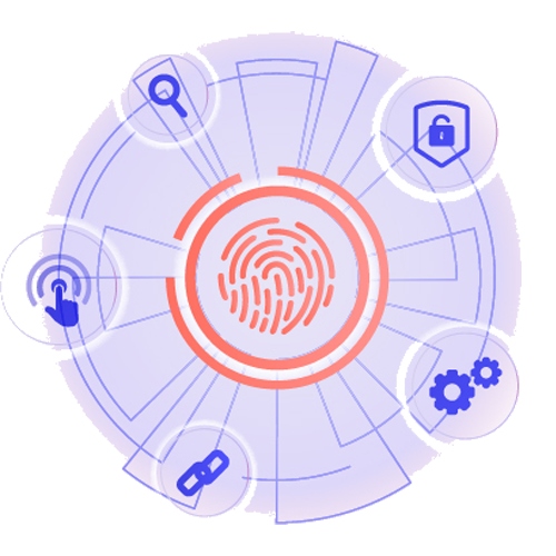 Graphic showing Livescan fingerprinting services